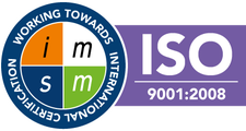 Iso 9001 Badge Large