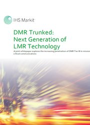DMR Trunked Next Generation  of LMR Technology