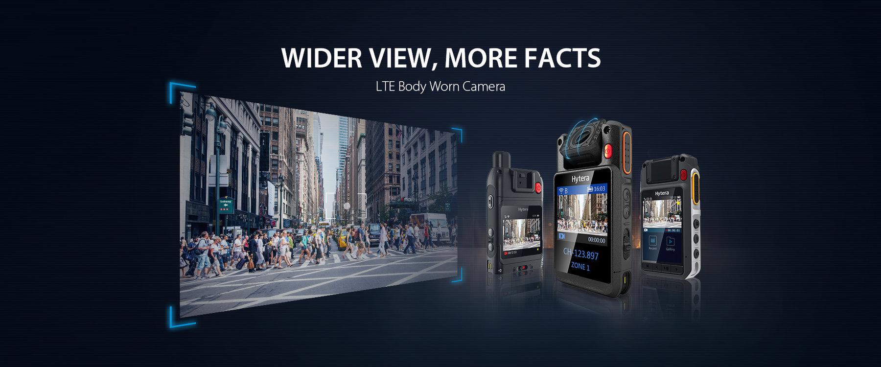 Wider view more facts bodyworn camera