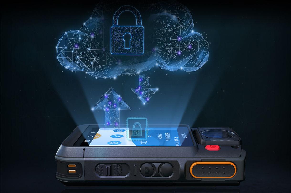 Bodyworn camera data encryption