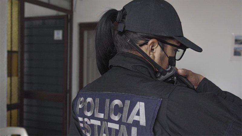 En 210608 detail 3 Los Reyes police mexico