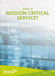 Mission Critical Service Whitepaper