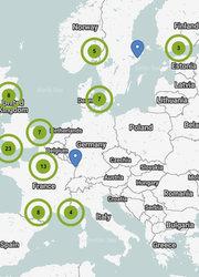 Find A Dealer Map