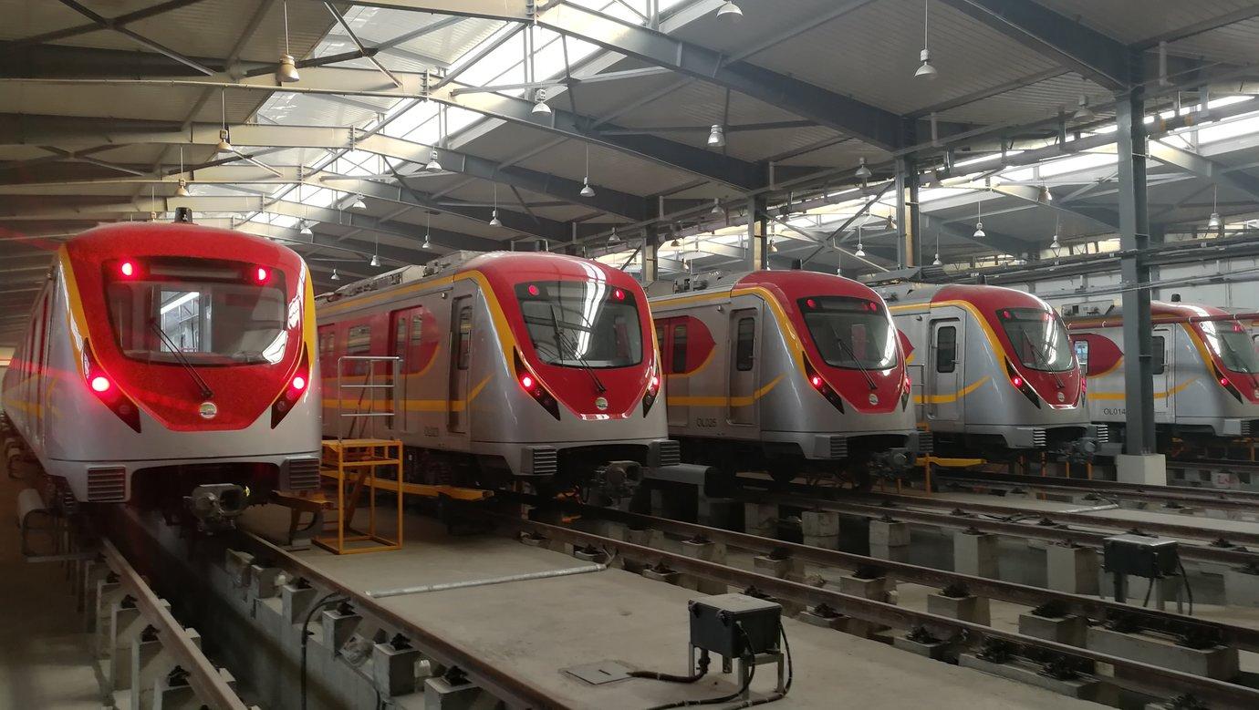 Lahore Metro Line in Pakistan