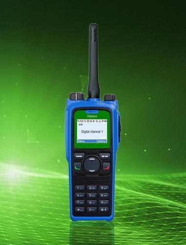 10100 hytera pd7 green